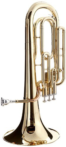 WD-BT511 Baritone Horn with Case and Mouthpie...