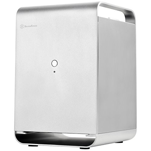 送料無料!SilverStone PCケース Mini-ITXマザー...