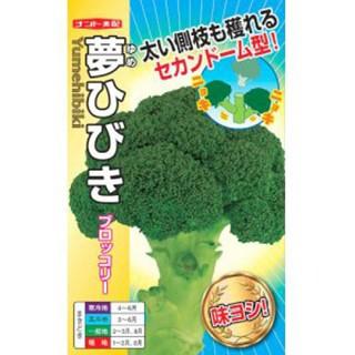 ブロッコリーの種 夢ひびき 小袋