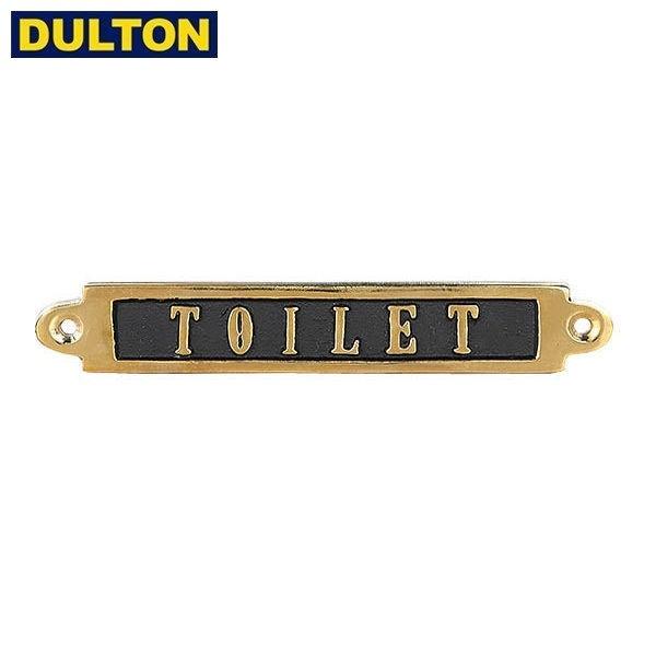 DULTON BRASS SIGN TOILET 【品番:GS559-326TO】...
