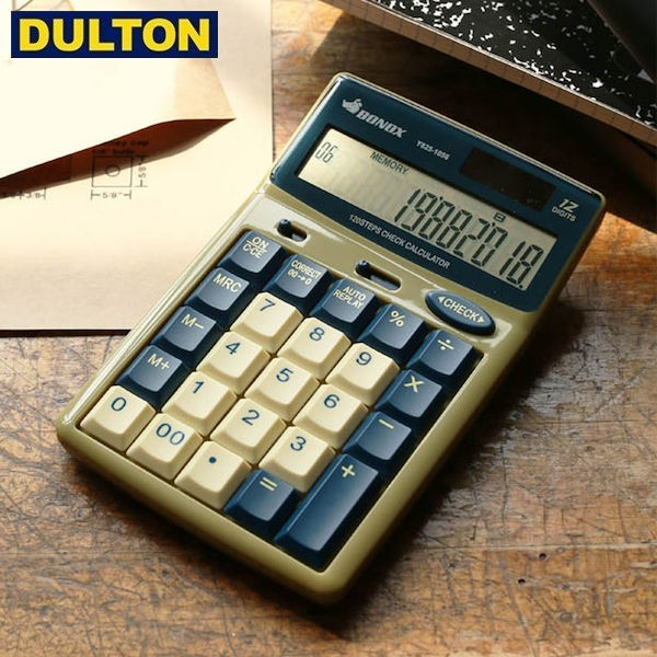 DULTON BONOX CALCULATOR BEIGE (品番:Y825-1056...