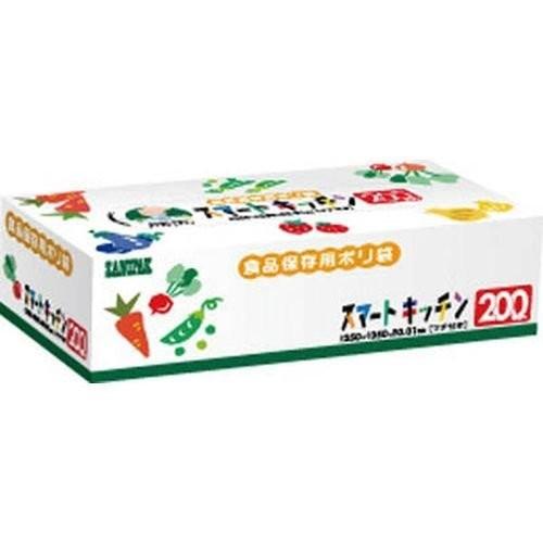 KS20スマートキッチン保存袋箱入り200枚 日本サ...