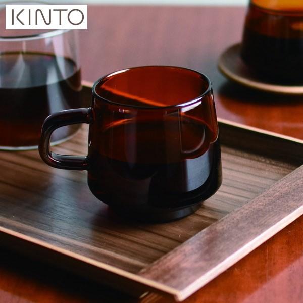 【P10倍】KINTO SEPIA マグ 340mL アンバー 21741...