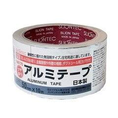 スリオンアルミテープ光沢有り NO.8170 50X10M 日...