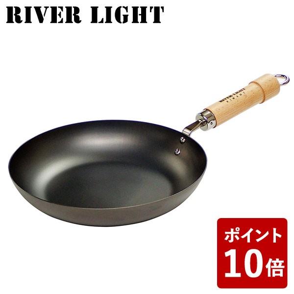 【P10倍】リバーライト 鉄 フライパン 28cm 極 ジ...