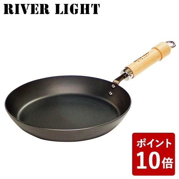 【P10倍】リバーライト 鉄 厚板フライパン 26cm ...