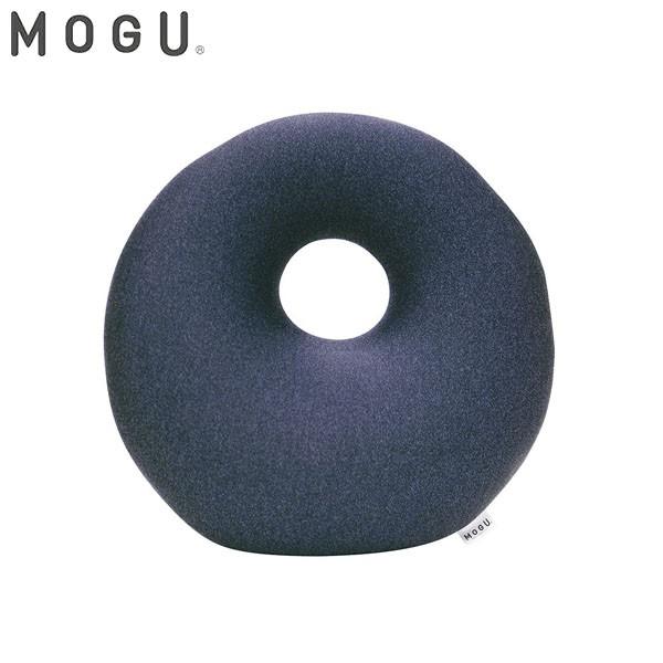 MOGU プレミアム ホールクッション ネイビー 約35...