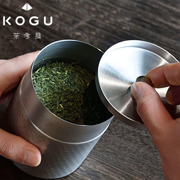 全品P5〜10倍 茶考具 茶筒 ステンレス お茶 茶葉 ...
