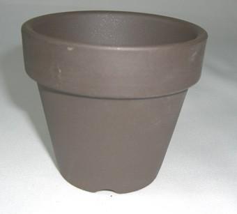黒鉢 硬質 素焼き鉢 2.5号 10枚セット 水草 ...