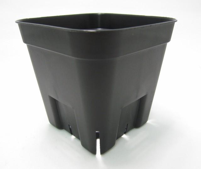 プレステラ 通常型 黒 90 スリット入りプラ鉢 10...