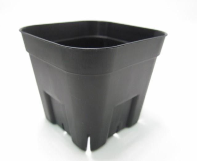 プレステラ 通常型 黒 105 スリット入りプラ鉢 10...