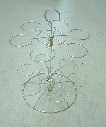 富貴蘭 吊枠 12個掛け 3〜3.5号用 植木鉢 鉢...