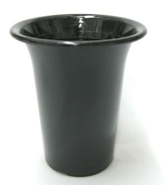 洋蘭プラ鉢 4号 10個 黒ラン鉢 プラ鉢 12cm 薔薇...