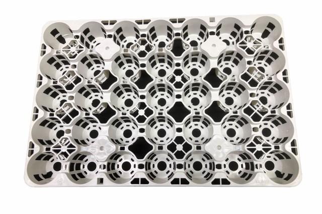 トレー 35穴 PMT-35 白(ホワイト) プラスチ...