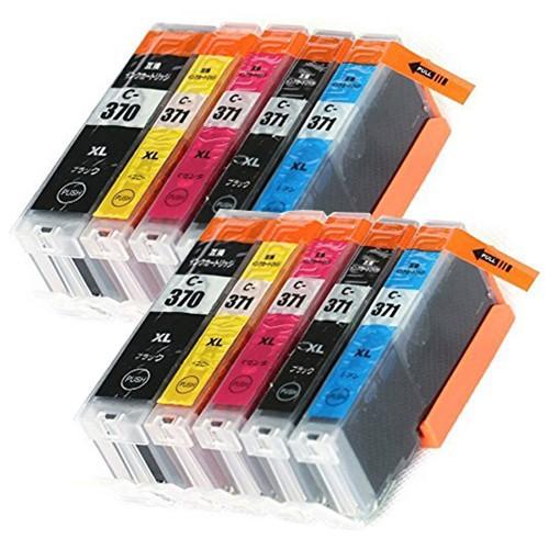 BCI-371XL+370XL /5MP 5色セット×2 キャノン 互...
