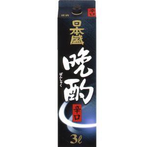【送料無料】日本盛 晩酌辛口 日本酒 3L 1ケース...