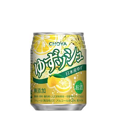 チョーヤ梅酒 ゆずッシュ 250ml 1ケース24本