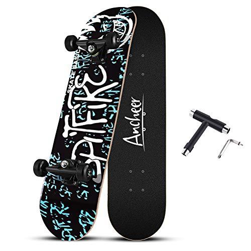 【送料無料】スケートボード スケボー 31インチ ...