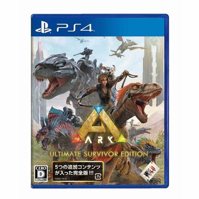 【発売前日出荷・メール便無料】 PS4 ARK: Ultima...