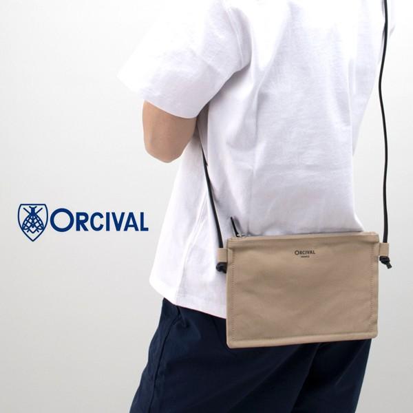 ORCIVAL オーシバル LIGHT CANVAS ショルダーポー...