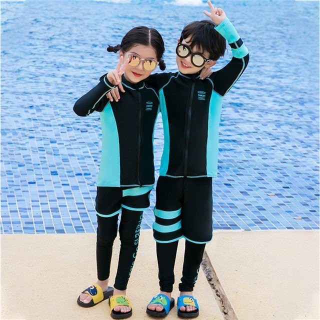 キッズ 子供ラッシュガード 水着 長袖 女の子4点セット/男の子3点セット キッズ ボタニカルデザイン UVカット 紫外線対策 日焼け防止
