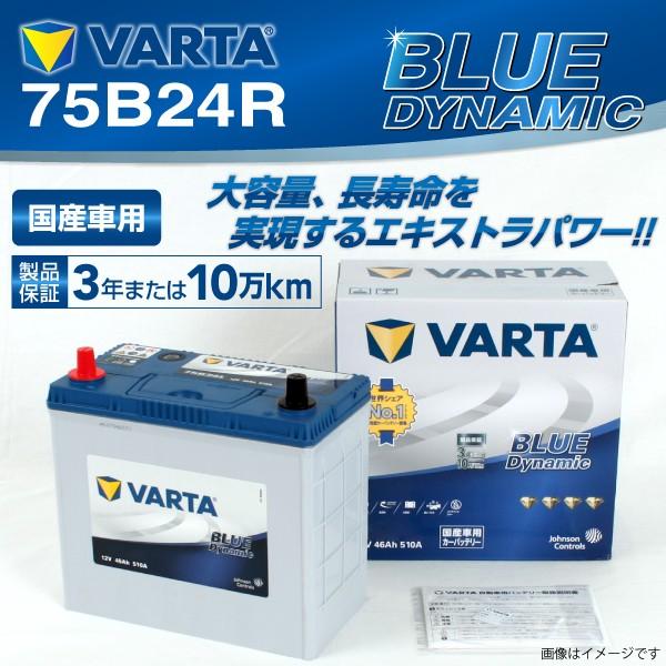 75B24R スズキ ジムニー VARTA バッテリー BLUE D...