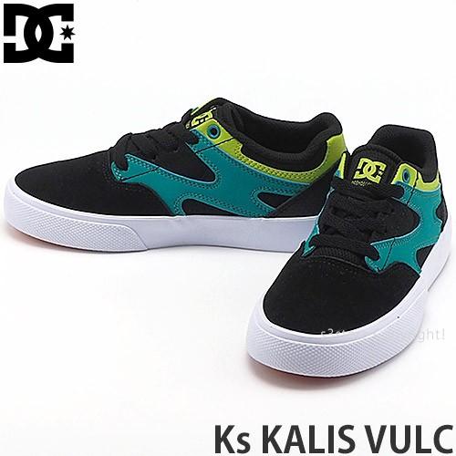 ディーシー Ks KALIS VULC カラー:BLACK/GREEN/OR...