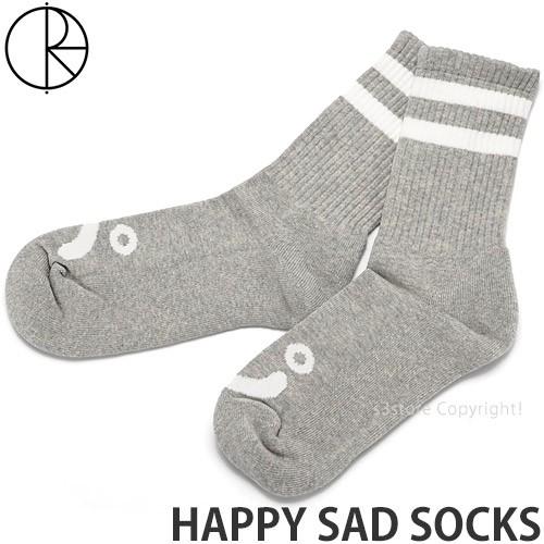 ポーラー スケート カンパニー HAPPY SAD SOCKS ...