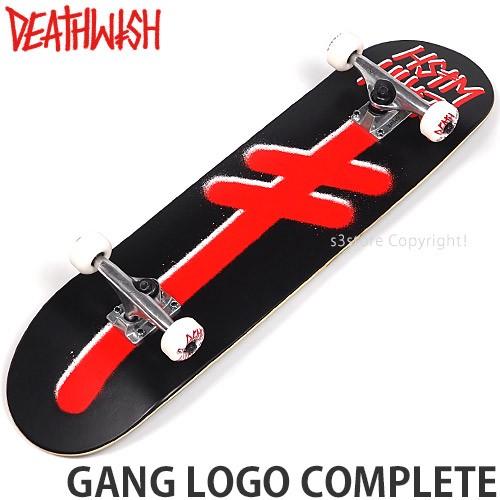 デスウィッシュ GANG LOGO COMPLETE カラー:Blk/R...