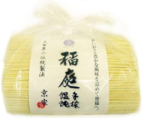 京家 三百年の伝統製法 稲庭手揉饂飩(いなにわ て...