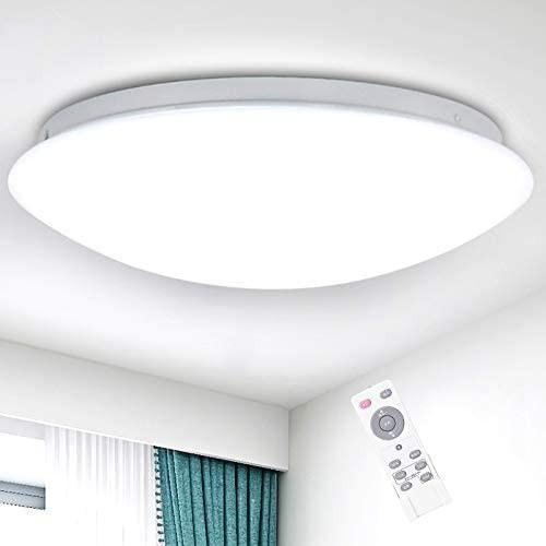 LEDシーリングライト 27W ~8畳 12段階調光 リモコ...
