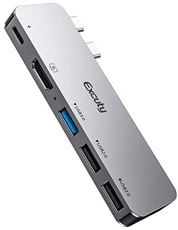 Macbook ハブ Macbook Pro/Air ハブ USB C ハブ 5...
