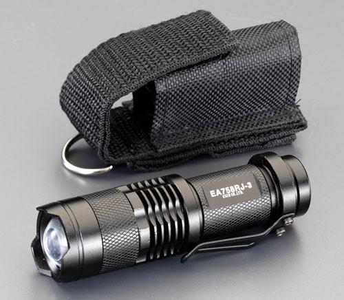 エスコ(ESCO) [単3x1本] フラッシュライト/LED(黒...