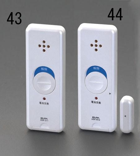 エスコ(ESCO) [振動センサー式]窓用アラーム EA86...