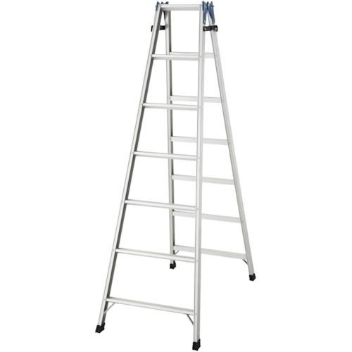 ハセガワ(長谷川工業) アルミはしご兼用脚立 標準...