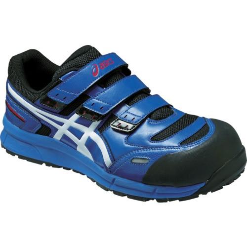アシックス 安全靴 ウィンジョブCP102 ブルーXホ...