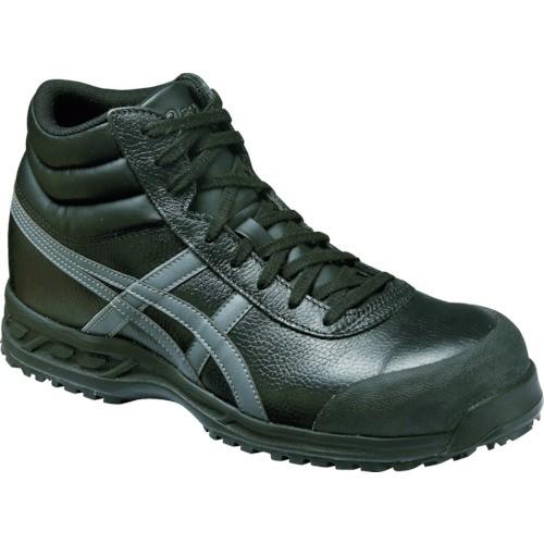 アシックス 安全靴 ウィンジョブ71S ブラックXガ...