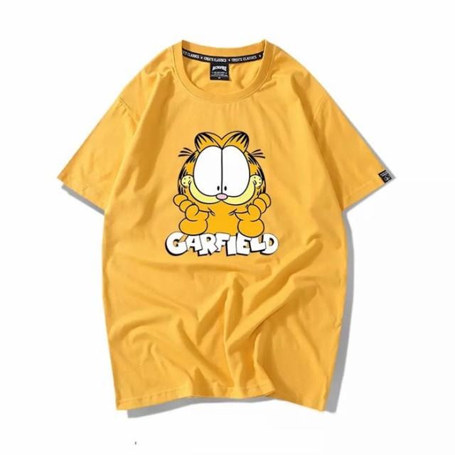 Garfield Tシャツ ペアルック tシャツ  ガーフィ...