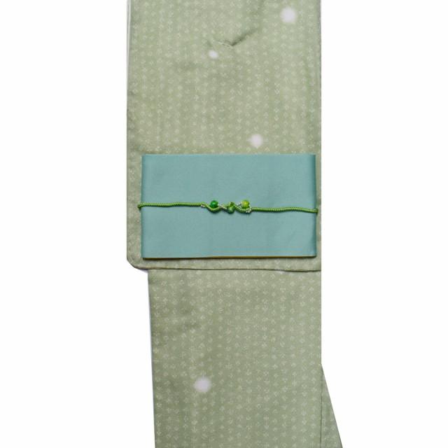 【M寸】洗える着物 + 洗える半幅帯 + 飾り帯締め ...