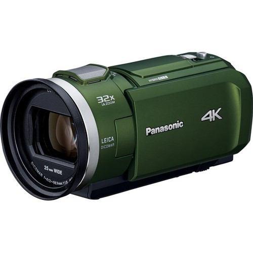 パナソニック HC-VX2M-G デジタル4Kビデオカメラ ...