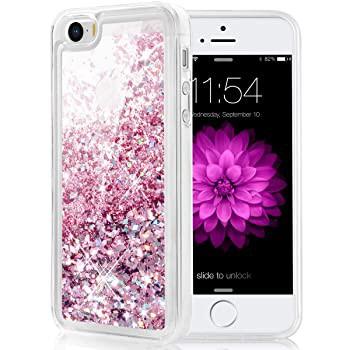 Caka iPhone 5/5S/SE ケース iPhone SE グリッタ...