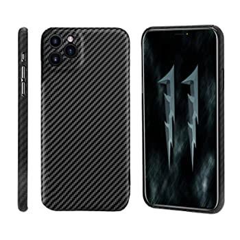 カーボンファイバー携帯電話ケース iPhone 11 Pro...