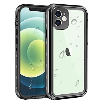 Lamcase iPhone 12 Mini 5.4 防水ケース 内蔵スク...