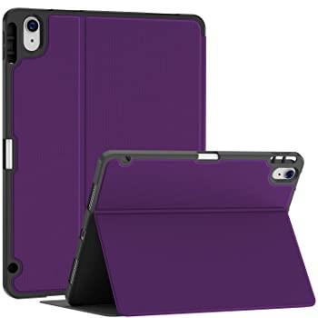 Soke iPad Air 4用ケース 鉛筆ホルダー付き iPad ...