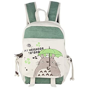 Innturt Anime Totoro Canvas Backpack Bag Rucks...
