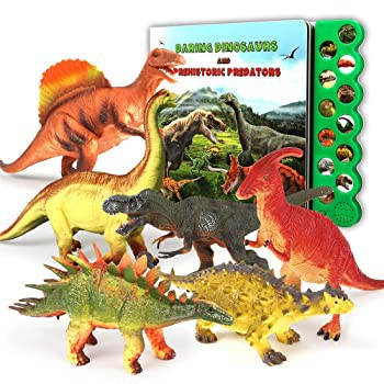 Olefun 恐竜おもちゃ 3歳以上用 - 恐竜サウンドブ...