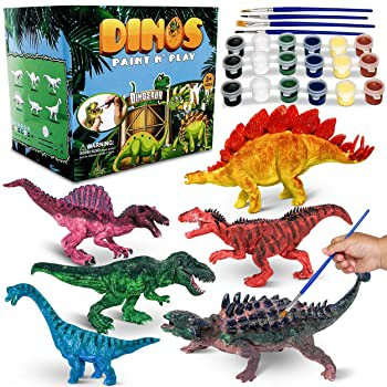 CraftzLab Dino Paint n Play Kids Arts and Craf...