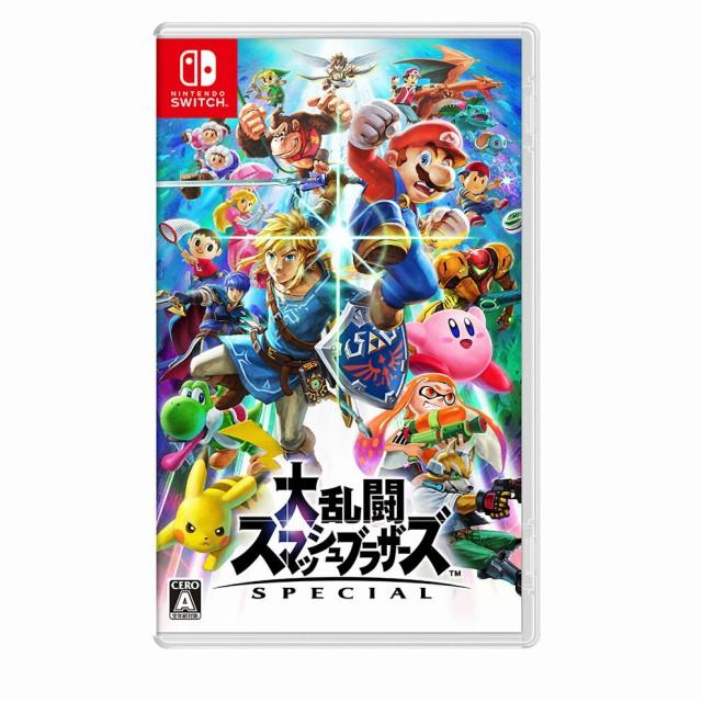 Nintendo Switchソフト 大乱闘スマッシュブラザー...
