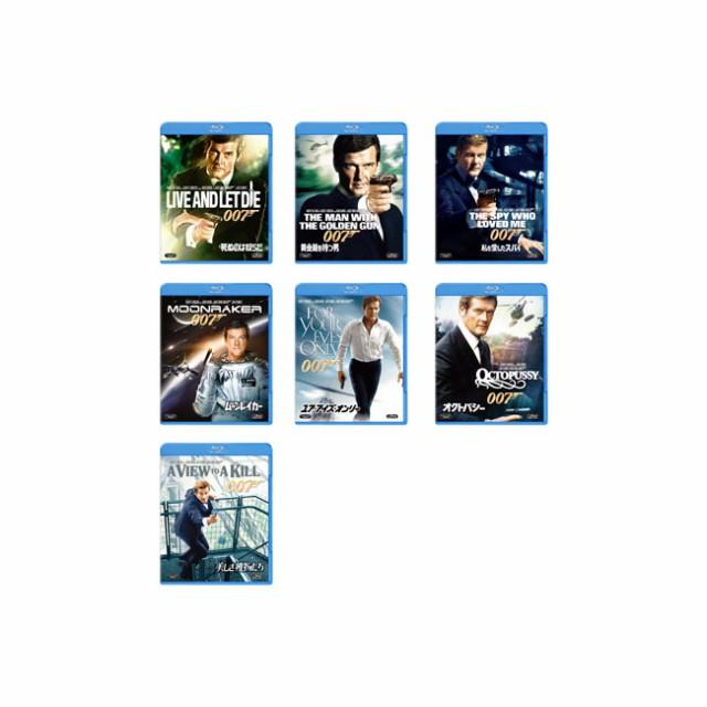 【送料無料】 007/ロジャー・ムーア ブルーレイ (...