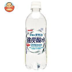 【送料無料】 サンガリア  伊賀の天然水 強炭酸水...